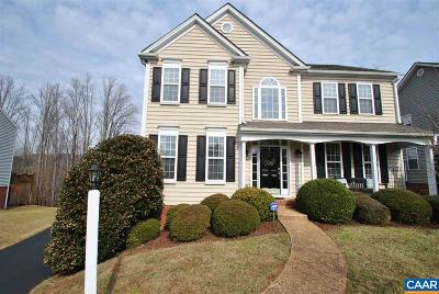 Charlottesville Single Family Home For Sale: 1418 Cedarwood Ct