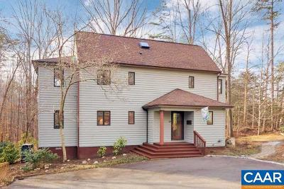 Albemarle County Single Family Home For Sale: 2125 Fray Rd