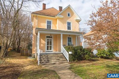 Charlottesville Single Family Home For Sale: 517 Lexington Ave