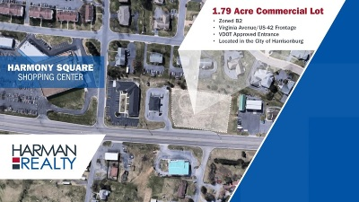 Harrisonburg VA Commercial For Sale: $399,000