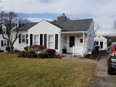 Harrisonburg VA Single Family Home For Sale: $175,000