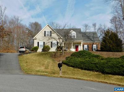 Charlottesville Single Family Home For Sale: 1512 Still Meadow Cv