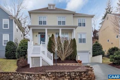 Charlottesville Single Family Home For Sale: 1110 St Charles Ct