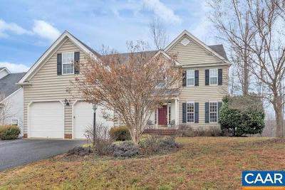 Charlottesville Single Family Home For Sale: 1430 Cedarwood Ct
