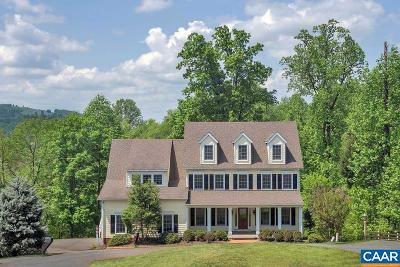 Charlottesville Single Family Home For Sale: 1781 Locust Shade Ln