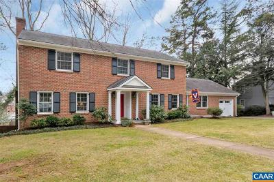 Charlottesville Single Family Home For Sale: 1442 Grove Rd
