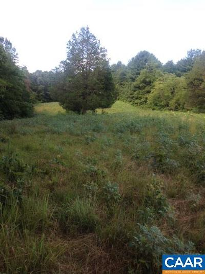 Charlottesville Lots & Land For Sale: Burnley Station Rd