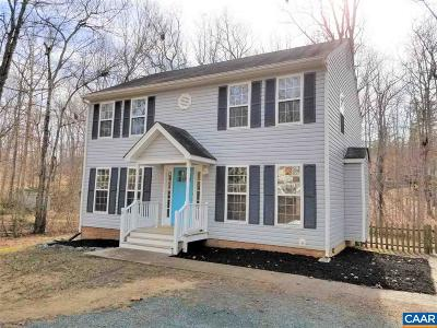 Fluvanna County Single Family Home For Sale: 9 Pinehurst Rd