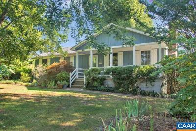 Single Family Home For Sale: 1625 Crozet Ave
