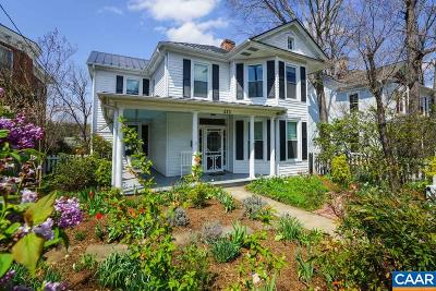 Charlottesville Single Family Home For Sale: 613 Locust Ave
