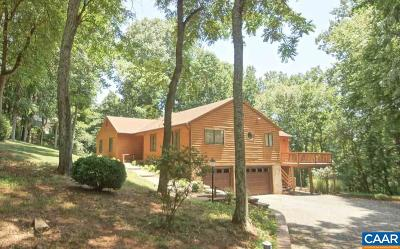 Charlottesville Single Family Home For Sale: 1935 North Pantops Dr