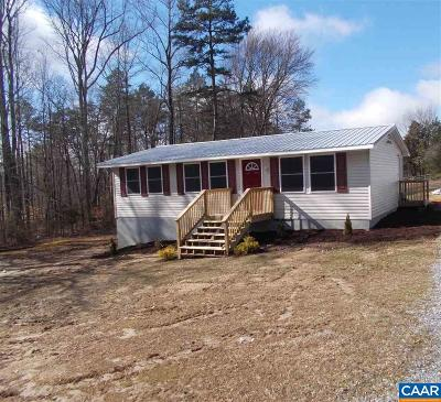 Louisa Single Family Home For Sale: 6379 Byrd Mill Rd