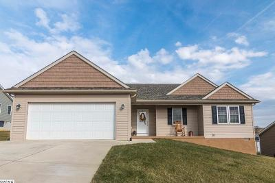 Single Family Home For Sale: 33 Hull Hills Ln