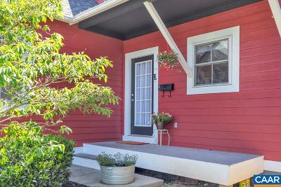 Charlottesville Single Family Home For Sale: 206 SW 5th St #E