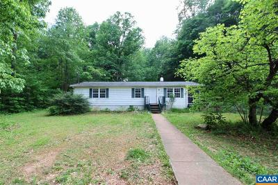 Louisa County Single Family Home For Sale: 5273 Yanceyville Rd