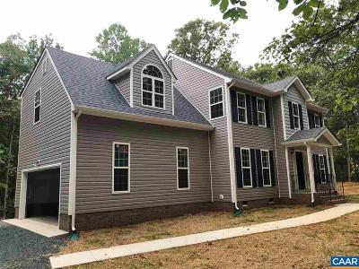 Fluvanna County Single Family Home For Sale: Lot 3 Fair Oaks Dr