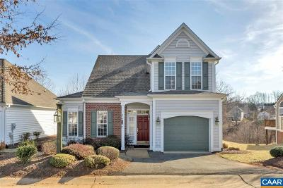 Charlottesville Single Family Home For Sale: 1316 Courtyard Dr