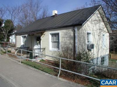 Charlottesville Single Family Home For Sale: 1304 Avon St
