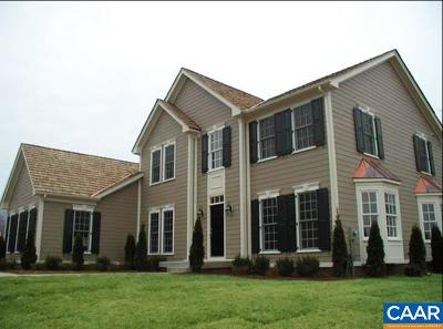 Albemarle County Single Family Home For Sale: 252 Millstream Dr