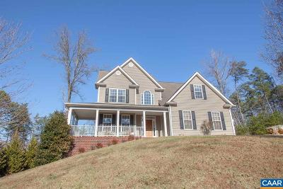 Charlottesville Single Family Home For Sale: 1470 Cedarwood Ct