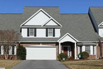 Staunton Townhome For Sale: 105 Forest Ridge Rd
