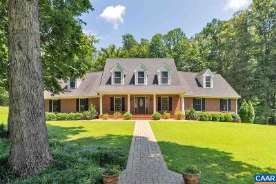 Albemarle County Single Family Home For Sale: 4090 Brocks Ln