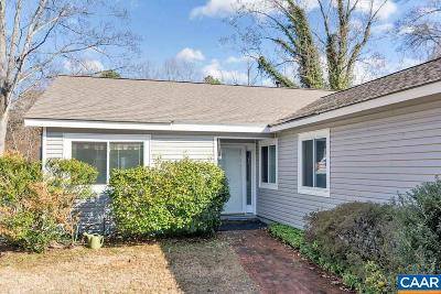 Charlottesville Single Family Home For Sale: 293 Tennis Dr