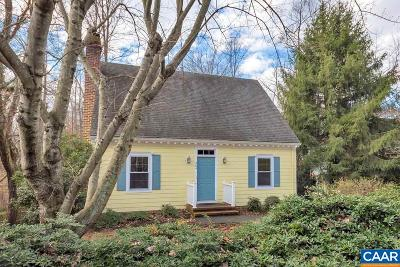Charlottesville Single Family Home For Sale: 304 N Bennington Rd