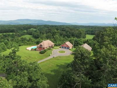 Albemarle County Farm For Sale: 4500 Hidden Valley Trl