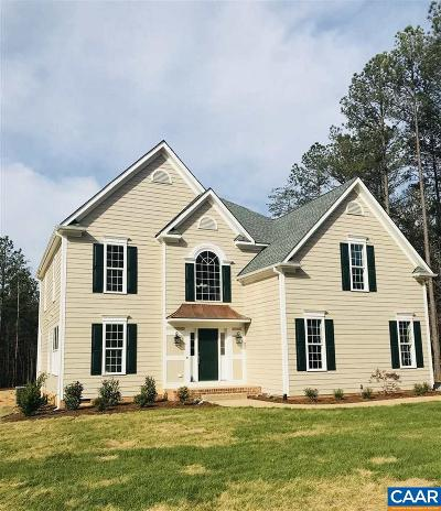 Fluvanna County Single Family Home For Sale: Lot 33 Pine Shadow Ct