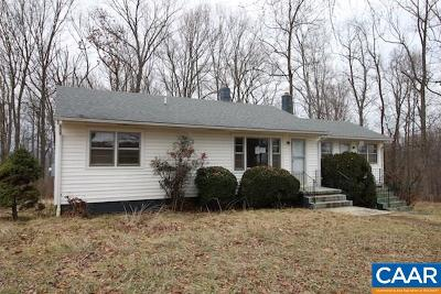 Albemarle County Single Family Home For Sale: 8130 Old Green Mountain Rd