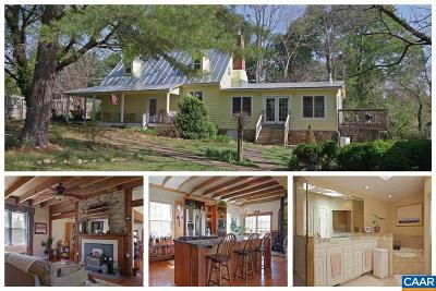 Earlysville Single Family Home For Sale: 17 Buck Mountain Rd