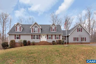 Scottsville Single Family Home For Sale: 197 Aldridge Ln
