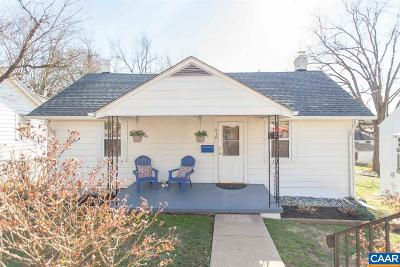Charlottesville Single Family Home For Sale: 918 Bolling Ave