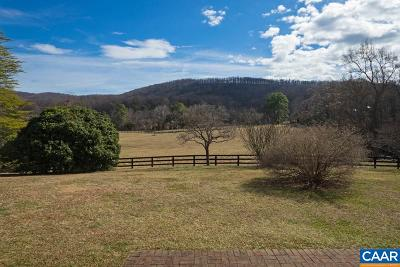 Albemarle County Single Family Home For Sale: 2516 Scottsville Rd