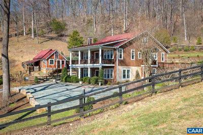 Nelson County Single Family Home For Sale: 234 The Hollow Ln