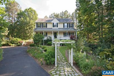 Barboursville Single Family Home For Sale: 88 Rosewood Dr
