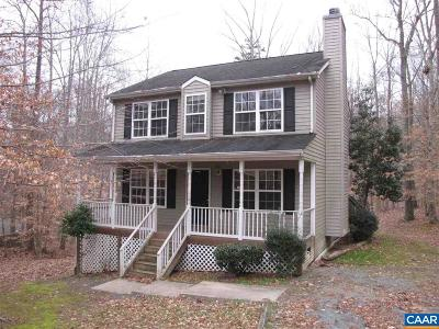 Fluvanna County Single Family Home For Sale: 11 Sandy Beach Ct