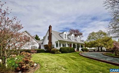 Keswick Single Family Home For Sale: 6554 Gordonsville Rd
