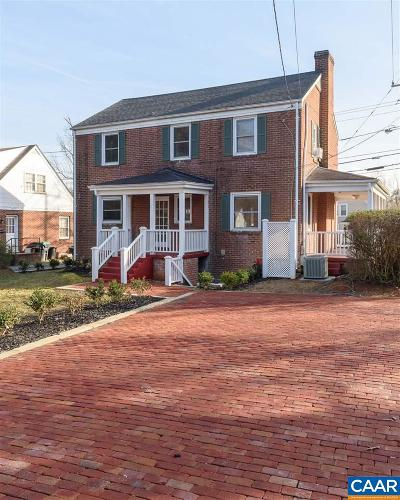 Charlottesville Single Family Home For Sale: 2323 Fontaine Ave