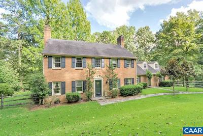 Albemarle County Single Family Home For Sale: 110 S Indian Spring Rd