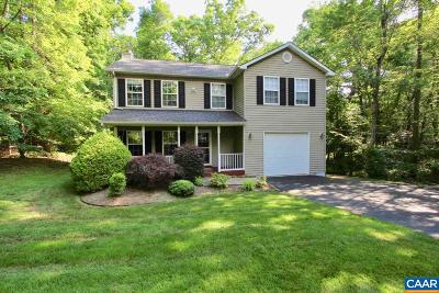 Fluvanna County Single Family Home For Sale: 154 Jefferson Dr