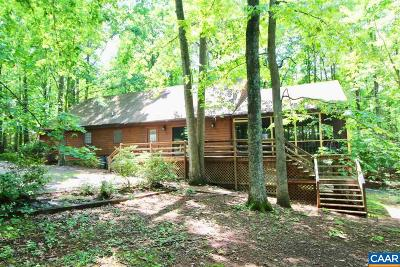 Louisa County Single Family Home For Sale: 157 Old Burruss Mill Rd