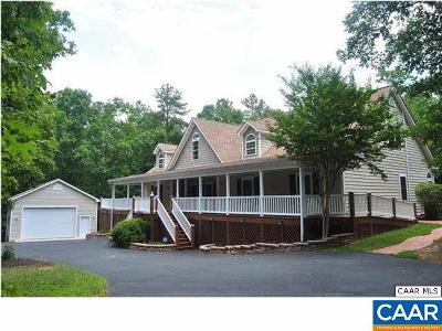 Scottsville Single Family Home For Sale: 2260 Secretarys Rd