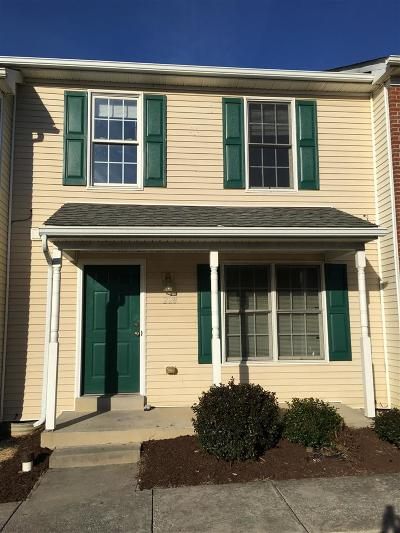 Harrisonburg Townhome For Sale: 228 N Commerce Dr