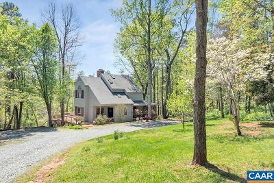 Albemarle County Single Family Home For Sale: 2445 Redbud Ln