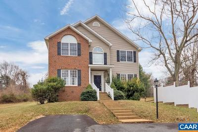 Charlottesville Single Family Home For Sale: 860 St Charles Ave