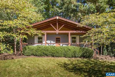 Charlottesville County Single Family Home For Sale: 1433 Gentry Ln