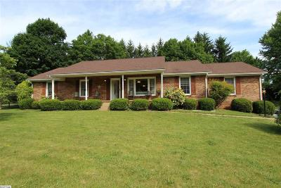 Staunton Single Family Home For Sale: 979 Lee Jackson Hwy