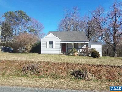 Louisa Single Family Home For Sale: 410 Kents Mill Rd